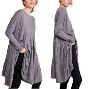 Free People We the Free Rory Tunic Gray Dress S